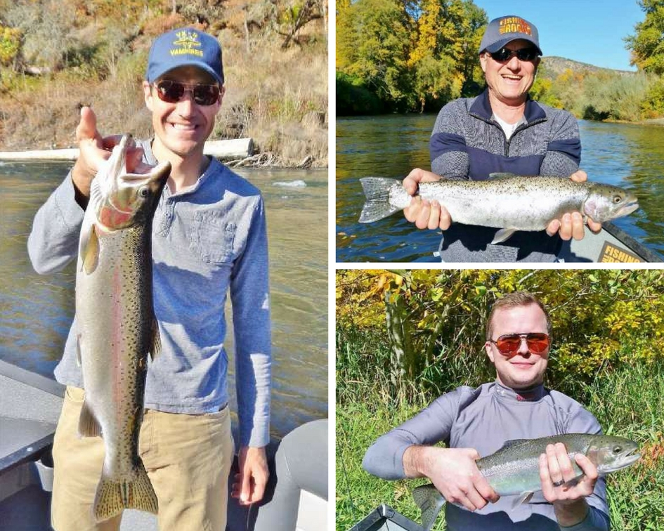 Rogue river fishing guides fishing trips for salmon and for Best bait for salmon fishing in the river