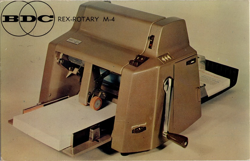 The Blog About the Postcards: More Vintage Office Equipment