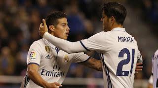 Manchester United Masih Incar Alvaro Morata dan James Rodriguez