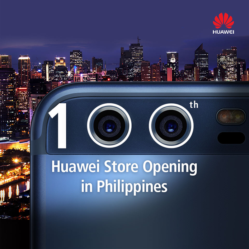 Huawei opens their 100th Concept Store in Taguig!