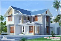 One Floor House Exterior Design