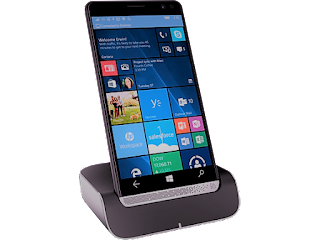 Smartphone Windows Phone HP Elite x3 + Desk Dock