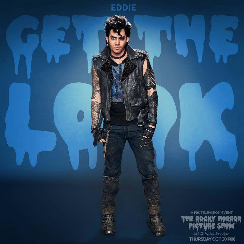 4a290313657c Adam Lambert as Eddie - Adam definitely brings the right energy to the  role, and all of ya'll saying this was Eddie after weight watchers, you are  all just ...