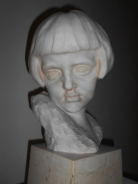 Virgilio Milani, volto di giovinetta, Ritratto della nipote, Rovigo