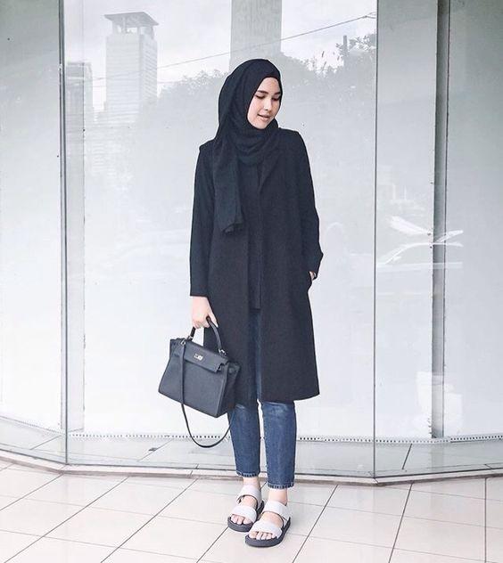 30 Gaya Fashion Hijab Casual Terbaru 2017 Model Hijab