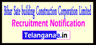 BSBCCL Bihar Sate building Construction Corporation Limited Recruitment Notification 2017 Last Date 13-05-2017