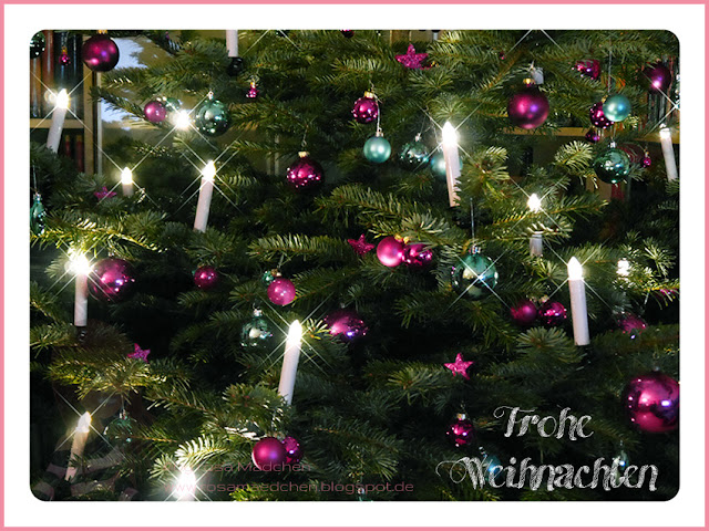 Stampin' Up! rosa Mädchen Kulmbach: Frohe Weihnachten