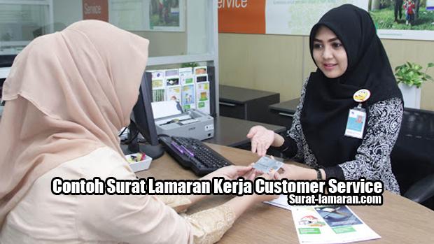 Contoh Surat Lamaran Kerja Customer Service Bank dan Swasta