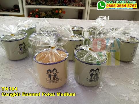Toko Cangkir Enamel Polos Medium