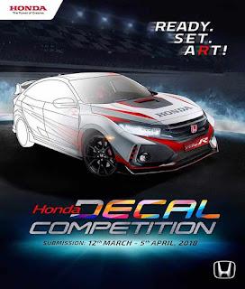 Yuk Ikuti Kompetisi Mendesain Honda Civic Type