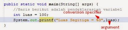 Fungsi Input/Output Dasar pada Java di NetBeans 1