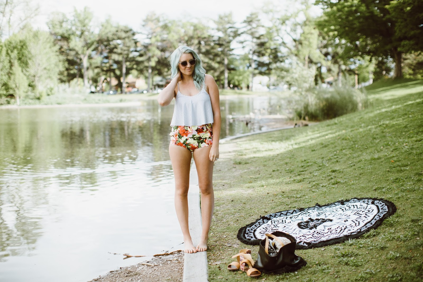 Modest Swimwear, Utah Fashion Blogger, Kortni Jeane
