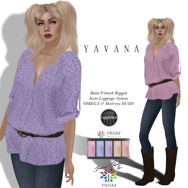 PRISM ~ New 55L Thursday Outfit YAVAVA Casual Jeans Outfit by Jezzixa