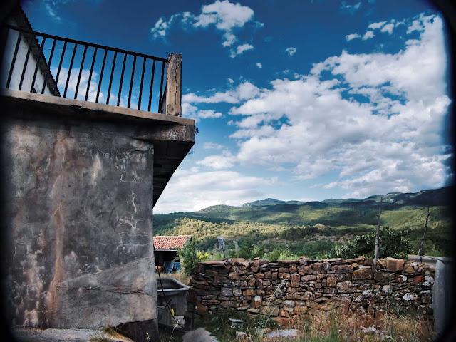 Terraza de casa Román