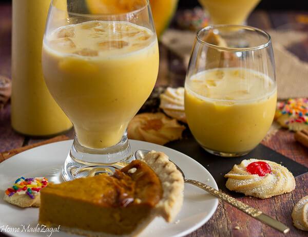 How to make Pumpkin Ponche De Creme