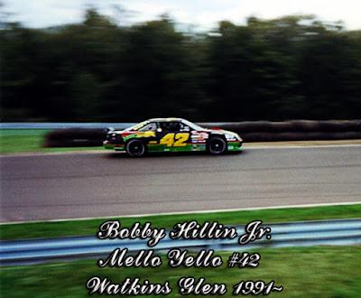 Bobby Hillin #42 Mello Yello car Kyle Petty SABCO racingchampions.blogspot.com