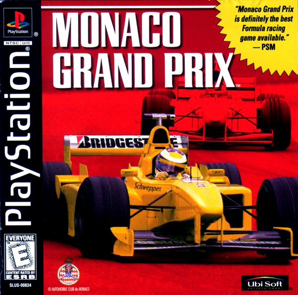 Monaco Grand Prix - PS1 - ISOs Download