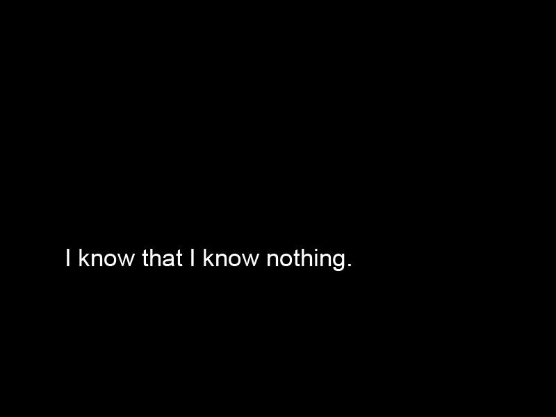 I Know That I Know Nothing Socrates Download