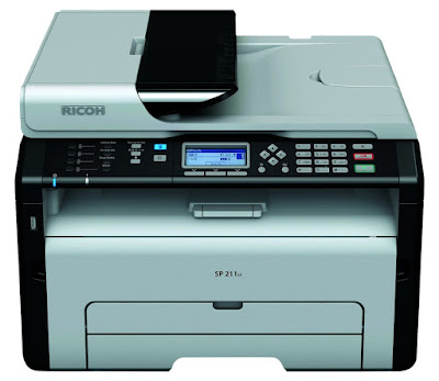 Ricoh had introduces 7 Light Amplification by Stimulated Emission of Radiation instruments the entry phase Ricoh SP211SF Driver Download