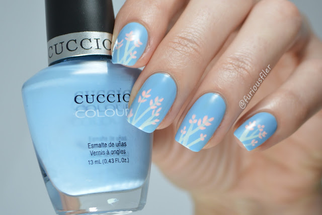 delicate easy flowers nails meebox kawaii pastel