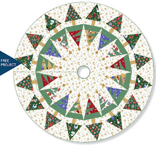 Spiderweb Christmas Tree Skirt Tutorial By Stitched In Color
