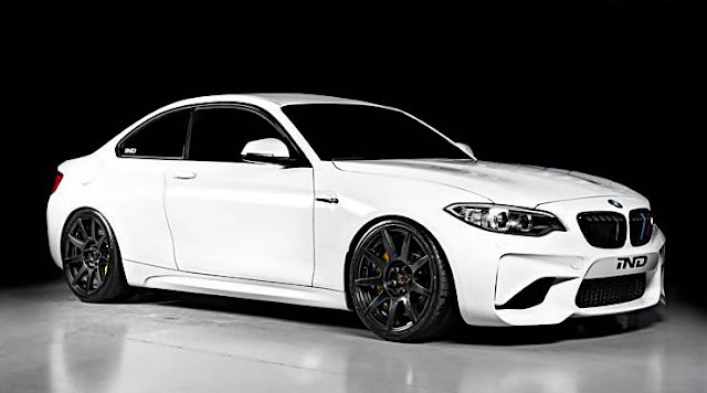 BMW M2 Alpine White Upgrade Carbon Fiber Wheels
