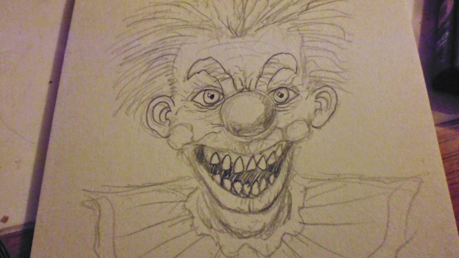 drawing killer klowns