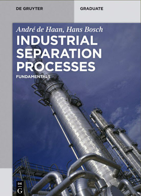 chemistry book- Industrial Separation Processes| Fundamentals