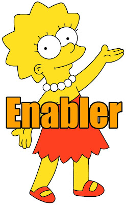 Lisa Simpson, Enabler