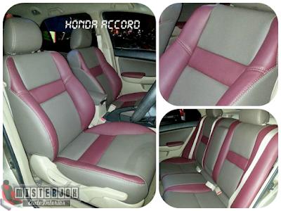 Jok Mobil Honda Accord Pink