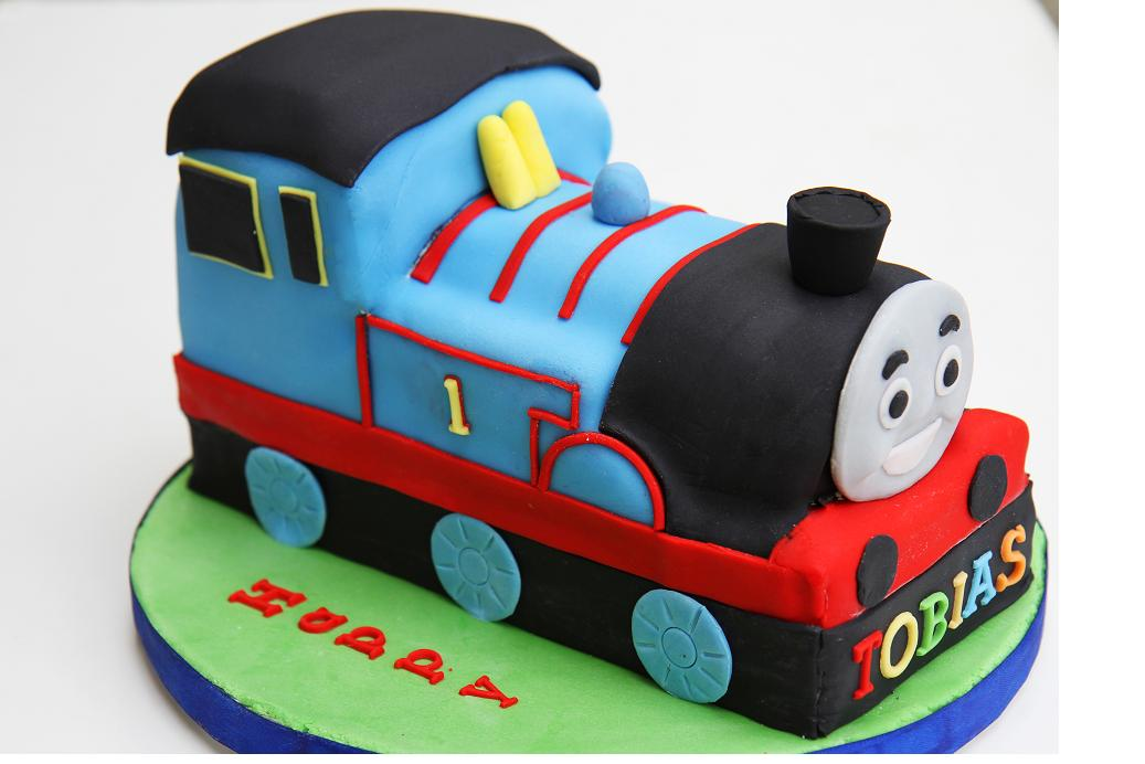 Gourmet Baking: Toby's 3rd Birthday Part II, Thomas The ...
