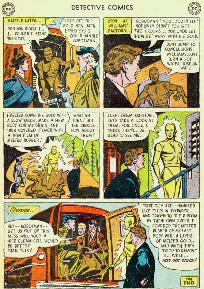 Read online Detective Comics (1937) comic -  Issue #174 - 22