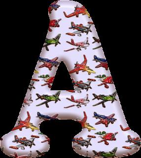Alfabeto con Aviones.