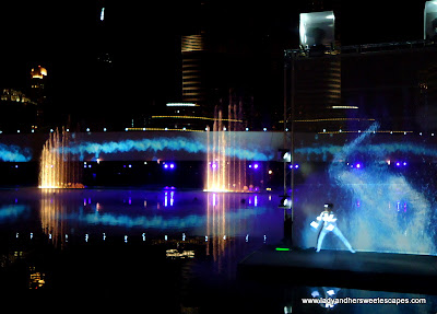 The Dubai Fountain Light 3