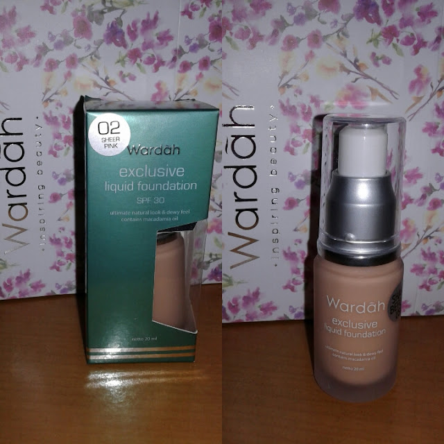 Review: Wardah Exclusive Liquid Foundation