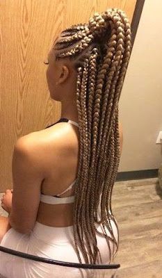re searching for a cool new style this season 36 Latest Jumbo Lemonade Braids Hairstyles With Accessory To Copy In 2019
