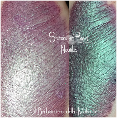 Nautius swatches Sisters Of Pearl  Neve Cosmetics