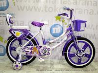 Sepeda Anak Exotic ET9807 Pretty Girl 18 Inci