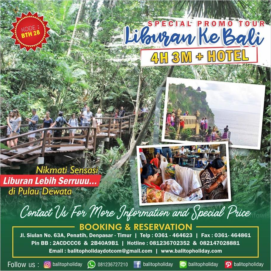 Paket Tour Paket Liburan Bali Dan Informasi Wisata Bali Sea
