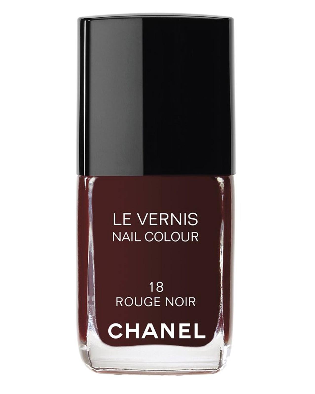 new chanel le vernis nail polish colour rouge noir 18 13 ml 0 4 fl oz ebay. Black Bedroom Furniture Sets. Home Design Ideas