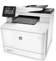 HP LaserJet Pro M477fnw is a multifunctional printer, doubles as a scanner, copier, and also fax and email, suitable for office and business purposes. Print speeds that reach 28ppm (black / color), suitable for solid office activities