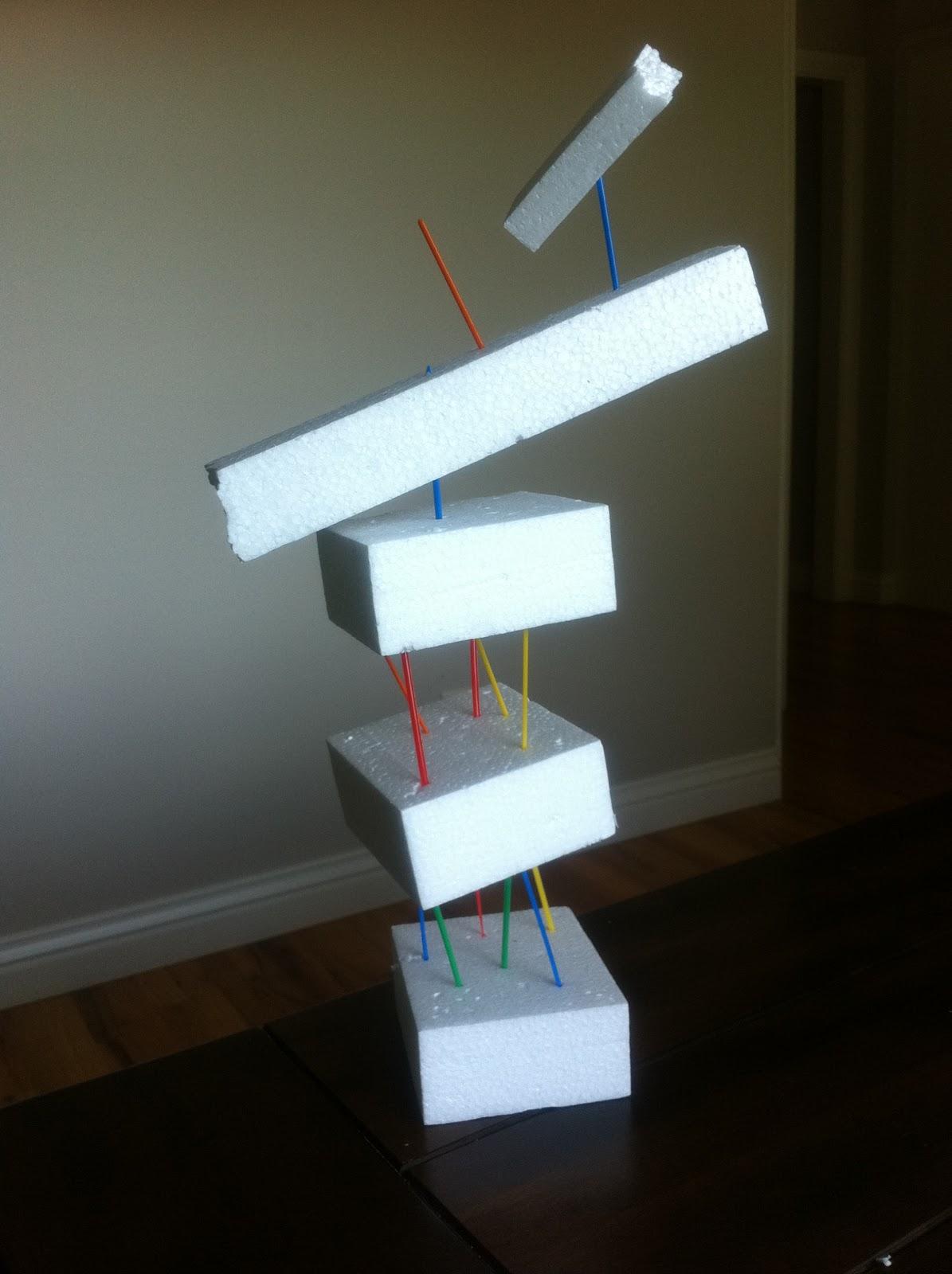 Play Create Explore: Styrofoam Sculptures