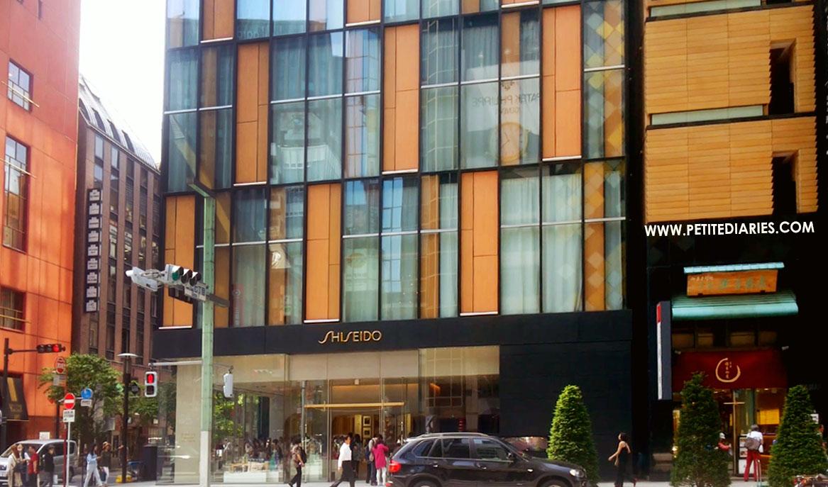 travel in tokyo shiseido ginza
