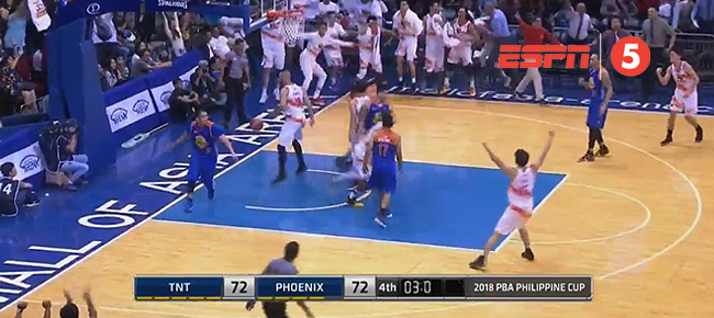 Phoenix def. TNT, 74-72 (REPLAY VIDEO) February 7