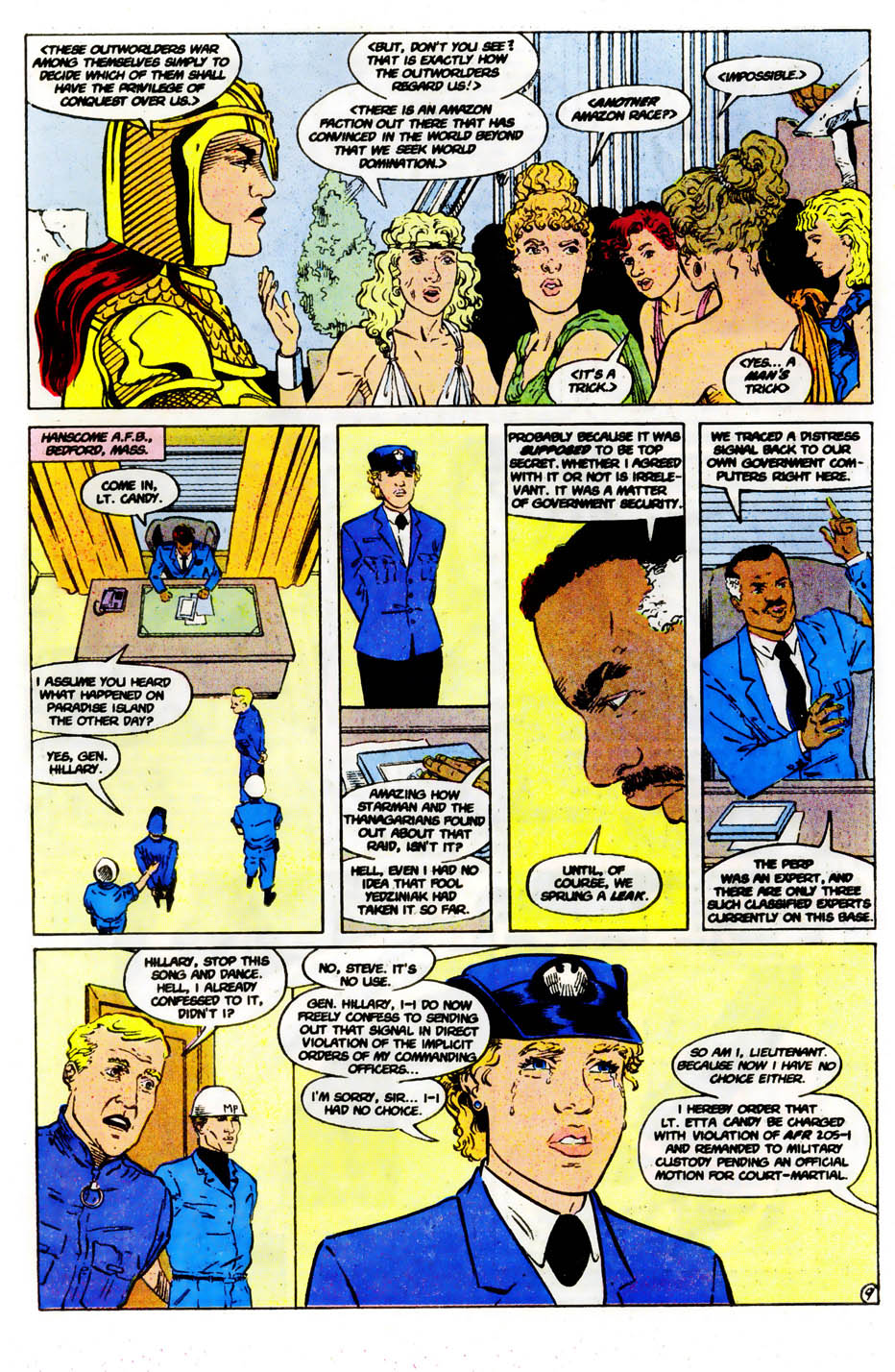 Read online Wonder Woman (1987) comic -  Issue #61 - 11