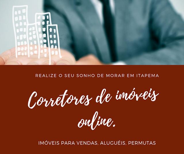 Corretores de imóveis online em Itapema