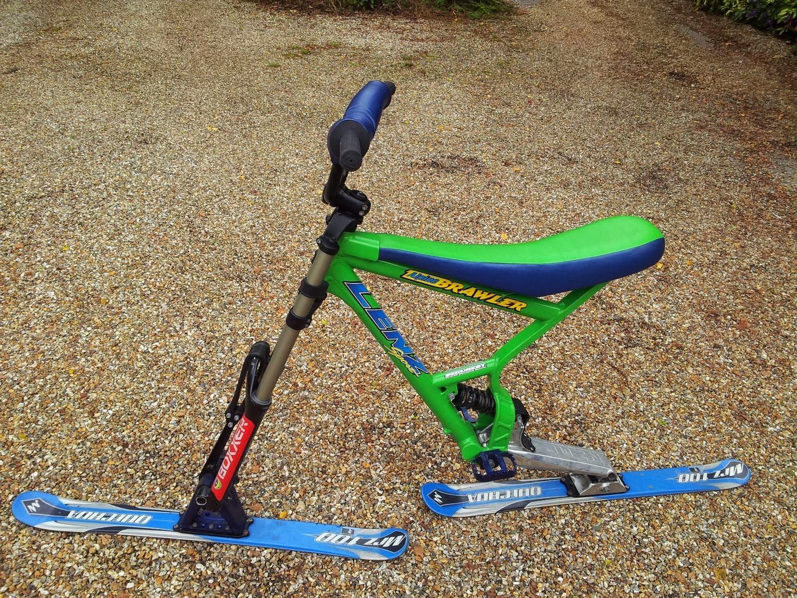 Ski Bike For Sale >> The Skibike Shop Sold Lenz Sport Alpine Brawler Freestyle Skibike