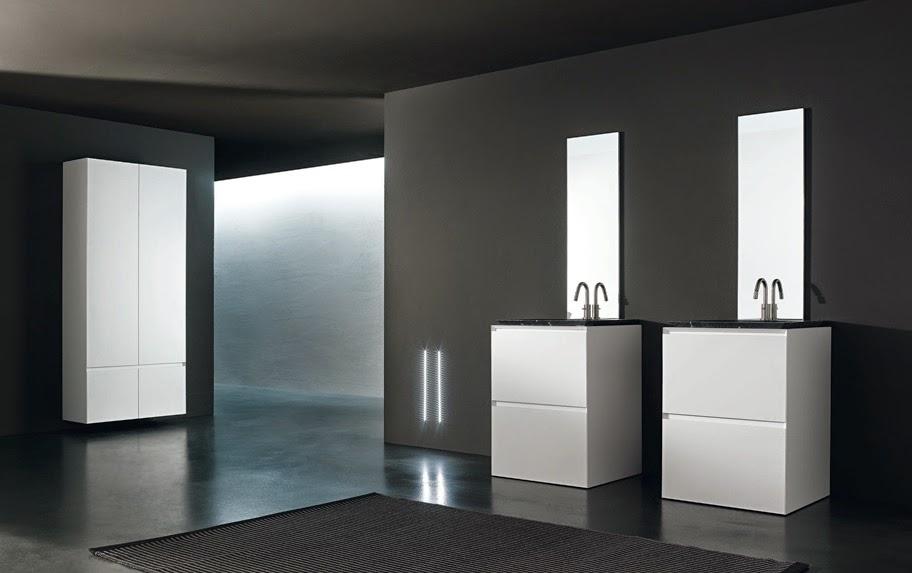 Dise ar un ba o minimalista colores en casa - Disenar un cuarto de bano ...