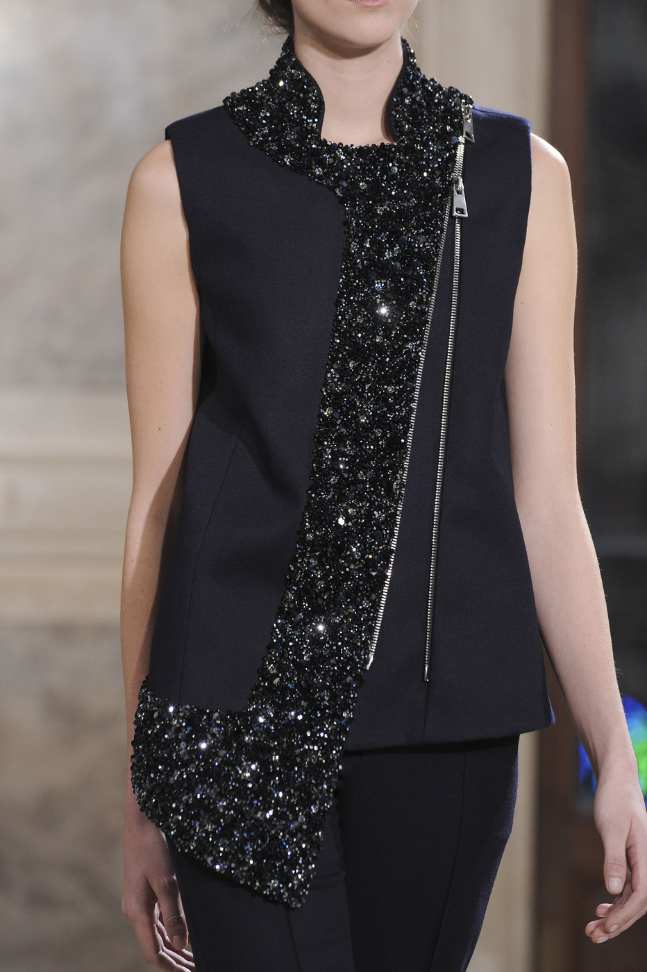 Bouchra Jarrar Haute Couture Spring-Summer 2014 / Lanvin new fashion designer via www.fashionedbylove.co.uk