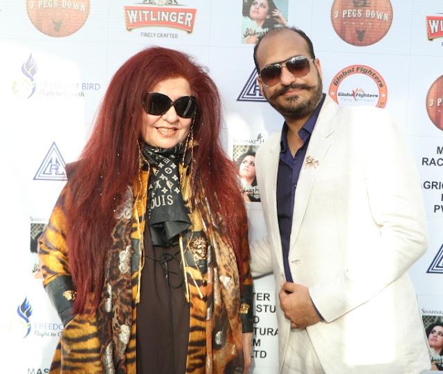 Shahnaz Husain with Daksh Oberoi